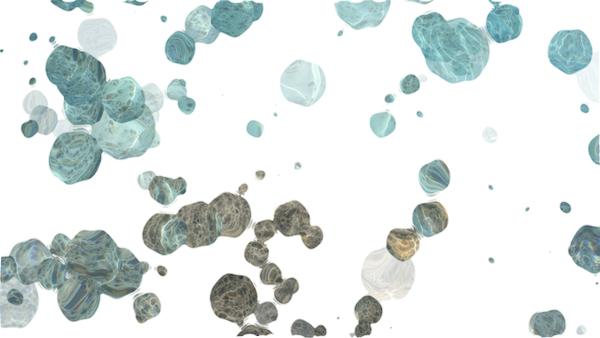 銀座みらい歯科 _除菌・消毒・殺菌・滅菌の違いの説明_顕微鏡で見た菌やウィルスのイメージ